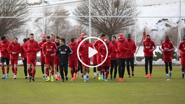 'Sivasspor hazırlıklarını sürdürdü