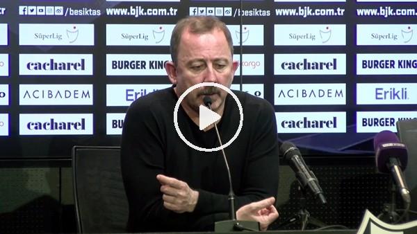 """'Sergen Yalçın, """"yanlış anlaşıldım""""dedi ve Başakşehir maçı sözleri için özür diledi"""