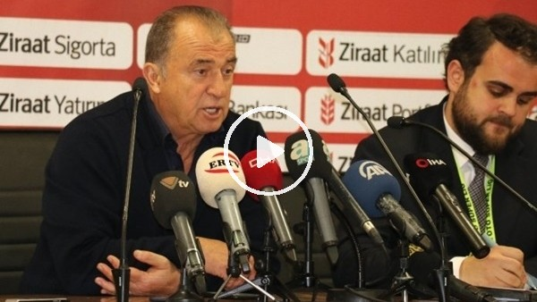 Galatasaray 3-1 Aytemiz Alanyaspor | Fatih Terim Ve Erol Bulut'un Maç Sonu Basın Toplantısı