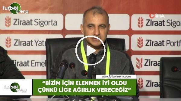 """'Mehmet Şimşek: """"Bizim için elenmek iyi oldu çünkü lige ağırlık vereceğiz"""""""
