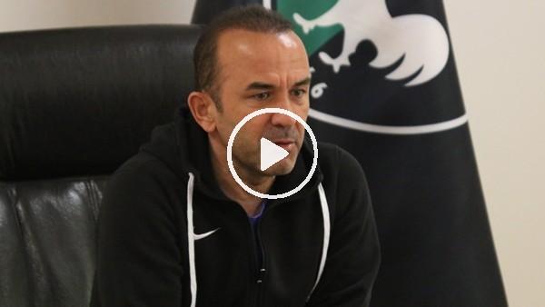 """'Mehmet Özdilek: """"Deplasmanda bu ligin en başarılı takımlarından birisiyiz"""""""