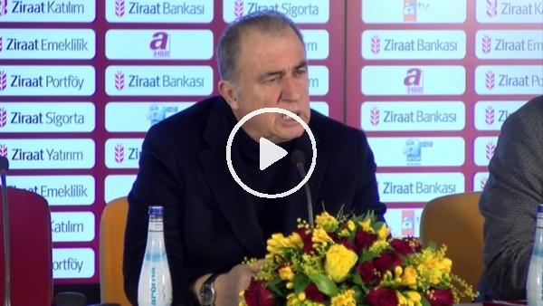 """'Fatih Terim: """"Galatasaray taraftarı hakkını helal etsin, gerekeni yaptık"""""""