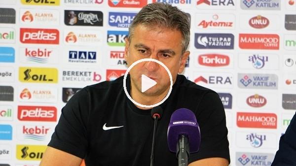 """'Hamza Hamzaoğlu: """"Çok heyecanlı bir oyun oldu"""""""