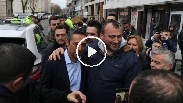"""Kırklarelispor tafaftarından Ali Koç'a: """"Koyu Fenerbahçeliyim ama sizi yeneceğiz"""""""