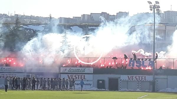 'Trabzonspor taraftarından takıma destek