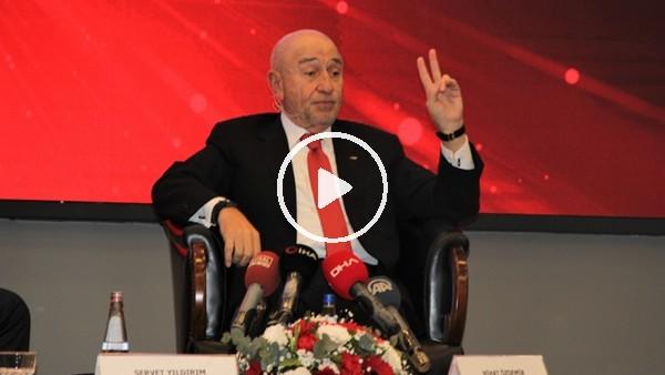 'Nihat Özdemir'den İzmir'e milli maç müjdesi