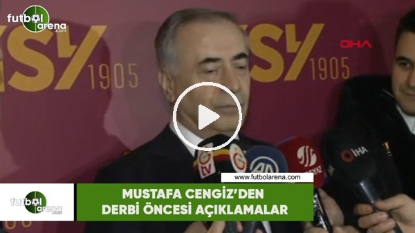 """'Mustafa Cengiz'den derbi öncesi açıklamalar! """"Kadıköy'e gideceğim inşallah"""""""