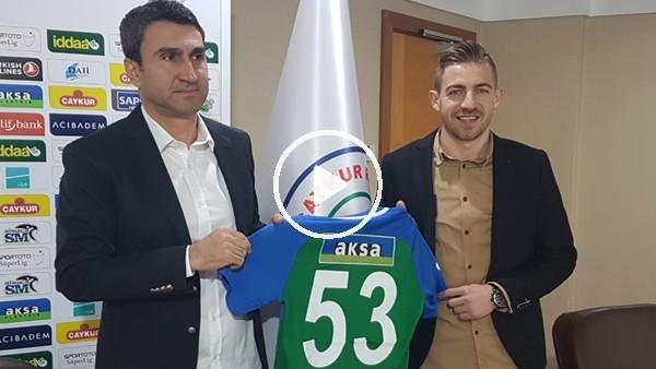 'Çaykur Rizespor, Melnjak'ın sözleşmesini uzattı