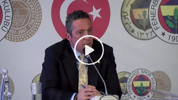 'Ali Koç'tan Fenerbahçe taraftarına çağrı