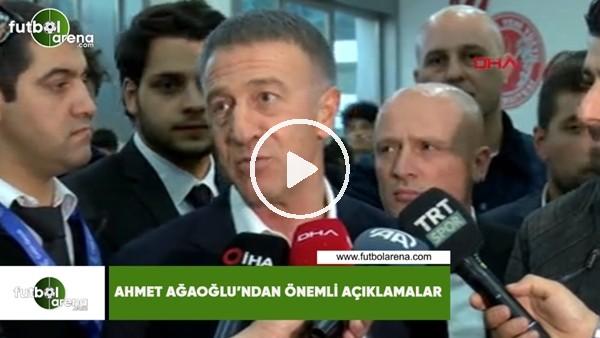 'Ahmet Ağaoğlu'ndan önemli açıklamalar