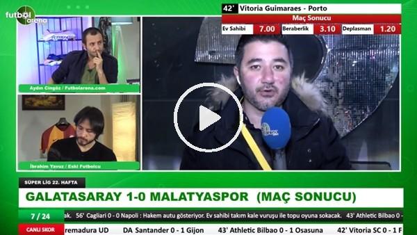 """'Ali Naci Küçük: """"Galatasaray'ın bu oyunu şampiyonluk ve derbi için yetmez"""""""