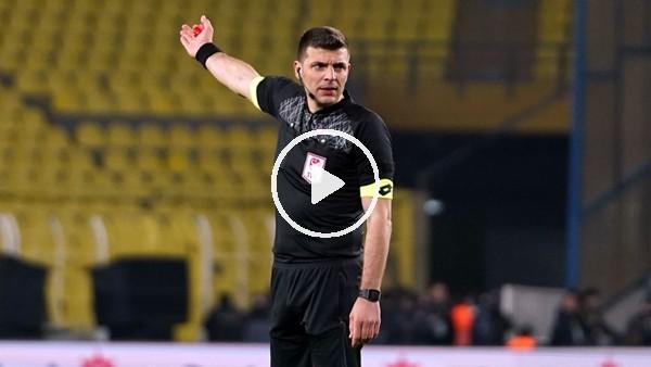 Ümit Öztürk, Fenerbahçe - Alanyaspor maçını nasıl yönetti? Selçuk Dereli yorumladı