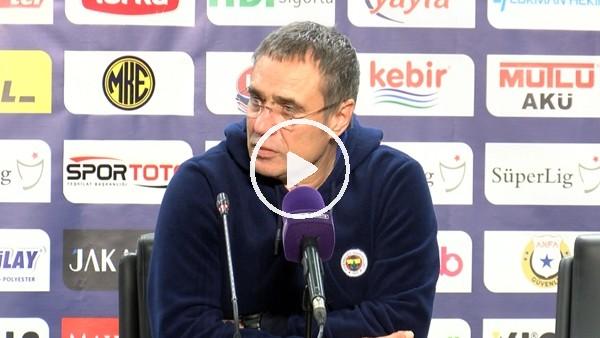 """'Ersun Yanal: """"Derbide çok farklı bir Fenerbahçe olacak"""""""