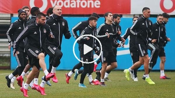 'Beşiktaş'ta Başakşehir Maçı Hazırlıkları | FutbolArena Beşiktaş Antrenmanında