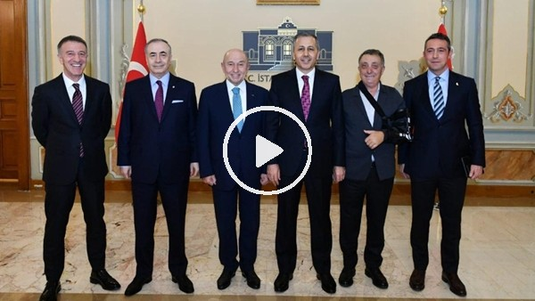 'İstanbul Valiliği'ndeki 'futbol' toplantısı sona erdi