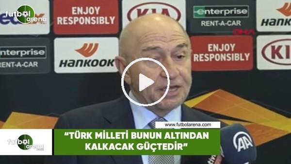 """'Nihat Özdemir: """"Türk milleti bunun altından kalkacak güçtedir"""""""