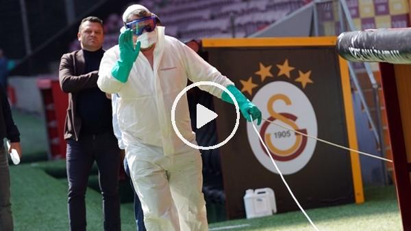 Türk Telekom Stadı koronavirüse karşı ilaçlandı