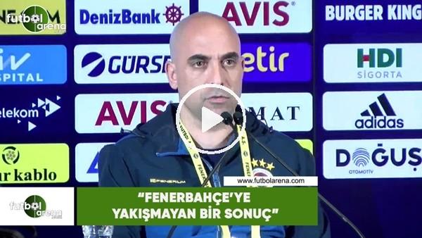 """'Zeki Murat Göle: """"Fenerbahçe'ye yakışmayan bir sonuç"""""""