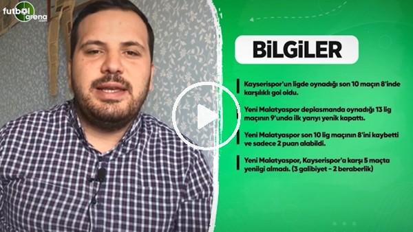 'Kayserispor'da Yeni Malatyaspor maçı öncesi son gelişmeleri