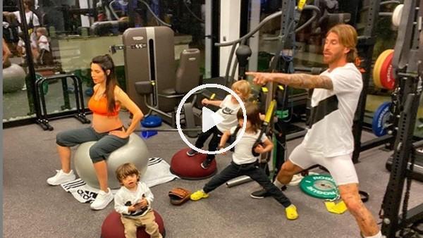 'Ramos çalışmalarına çocuklarıyla birlikte devam ediyor