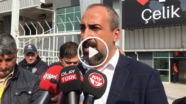 'Mustafa Tokgöz'ün Yeni Malatyaspor maçı sonrası açıklamaları