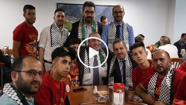 'Filistin'in Zeytindağı Spor Kulübü'nden Abdurrahim Albayrak'a geçmiş olsun mesajı