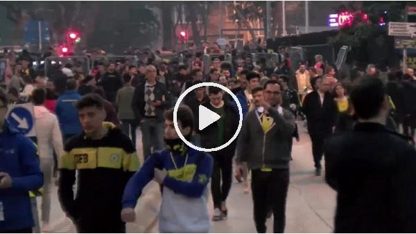 'Fenerbahçe - Denizlispor maçına doğru stat çevresi