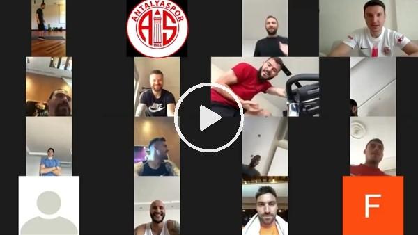 Antalyaspor'dan e-antrenman