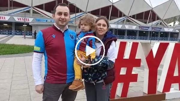 'Trabzospor taraftarından takımlara destek