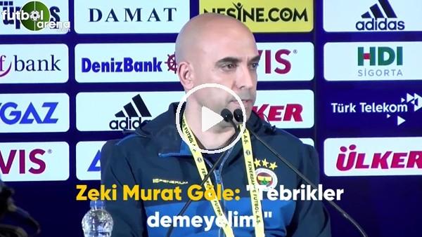 'Zeki Murat Göle'nin basın toplantısında ilginç diyalog