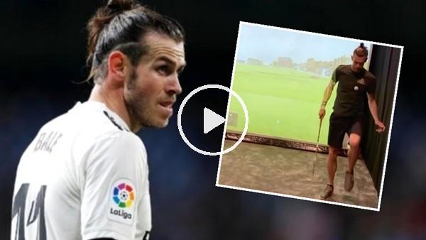 'Gareth Bale karantina günlerini golf oynayarak geçiriyor