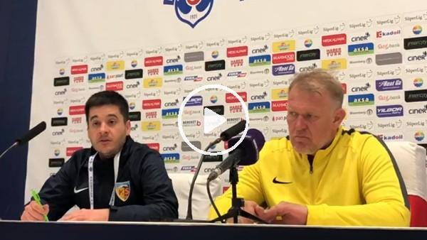"""'Robert Prosinecki: """"Geçtiğimiz maçlardaki birlikteliği sergileyemedik"""""""