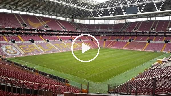 Galatasaray - Beşiktaş derbisi öncesi Türk TelekomStadı dezenfekte ediliyor