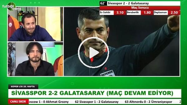 Sivasspor'un Galatasaray karşısında kazandığı penaltı doğru mu?