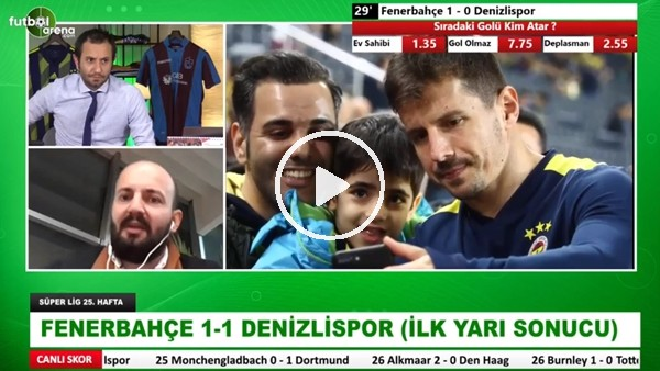 'Fenerbahçe, Denizlispor karşısında ilk yarı nasıl oynadı? | Tolgay Arslan'ın kırmızı kartı doğru mu?