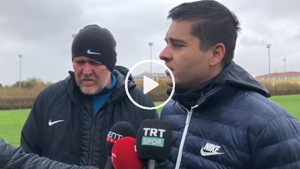 """'Robert Prosinecki: """"Taraftarsız futbol içimize sinen bir durum değil"""""""