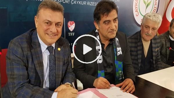 ÇaykurRizespor, Ünal Karaman ile 1,5 yıllık sözleşme imzaladı