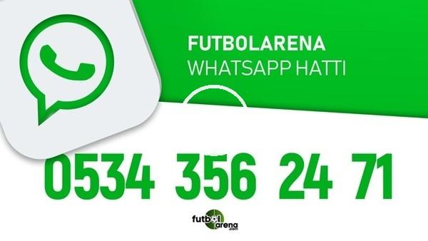 'FutbolArena Whatsapp Hattı