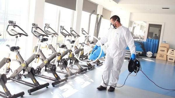 Beşiktaş tesislerinde koronavirüs temizliği