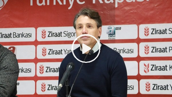 """'Tamer Tuna: """"En olumsuz şeydi gol yemek"""""""