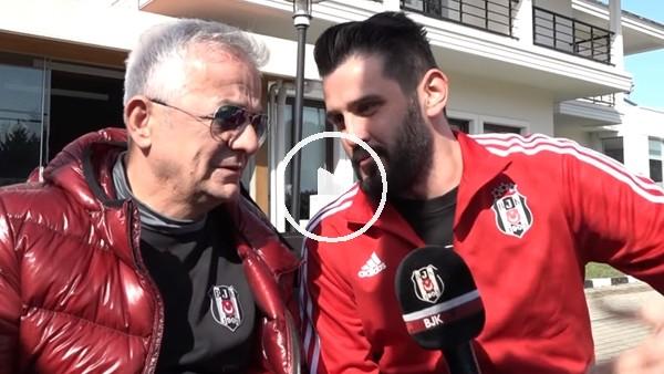 Zafer Algöz, Beşiktaş antrenmanını izledi