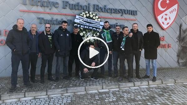 'Bursaspor'dan TFF'ye tepki