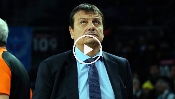 'Ergin Ataman'dan Fenerbahçe'ye geçmiş olsun mesajı
