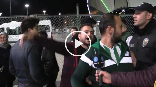 'Konyaspor taraftarından maçın hakemine sert tepki