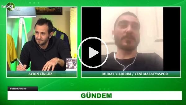 """'Murat Yıldrım: """"Sergen Hoca'nın İtalyan kondisyoneri bizi baya yıpratmıştı"""""""
