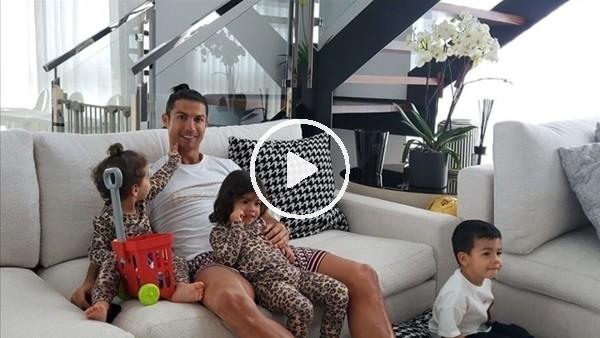 'Cristiano Ronaldo çocuklarıyla birlikte çalışıyor