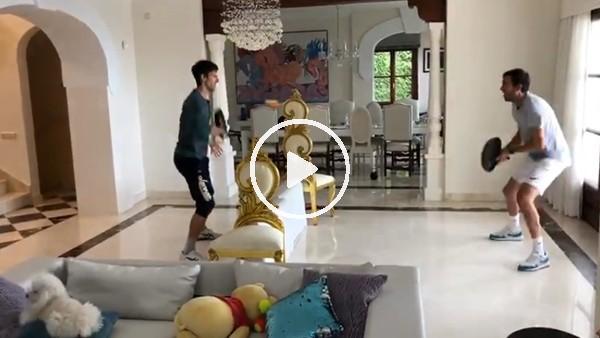 'Novak Djokovic tavayla tenis oynadı