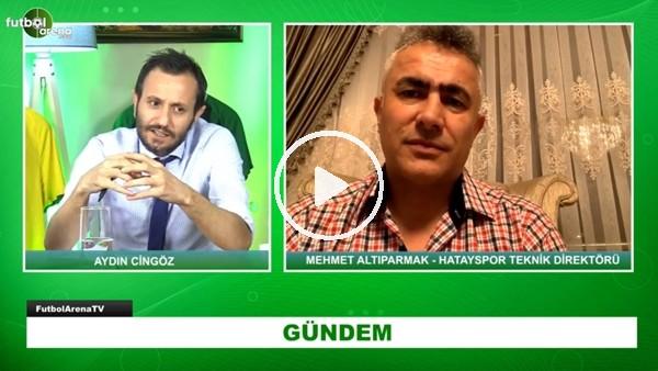 """'Hatayaspor Teknik Direktörü Mehmet Altıparmak: """"Maçlar İçin Antalya Ve Çevresi En Uygun Yer"""""""
