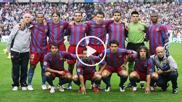 '2005/2006 Barcelona | Efsane Kadrolar #1