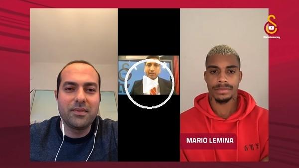 """'Mario Lemina: """"Fatih Terim, Abdurrahim Albayrak ve Yusuf Günay'a çok üzüldük"""""""